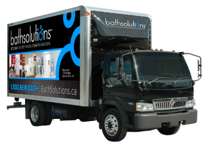 Five Star Bath Solutions Franchise Truck